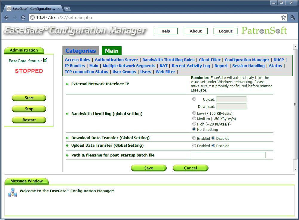 free Windows proxy server - EaseGate